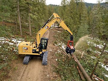 Cat 538 Forest Machine
