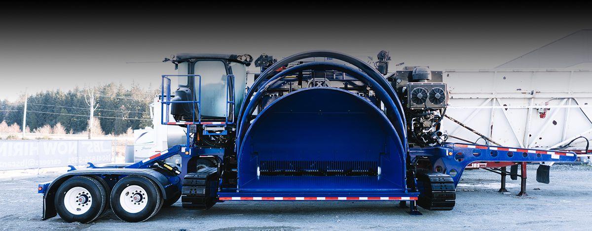 JBS Track-Pack Silage Bagger - Cat® C15 Engine
