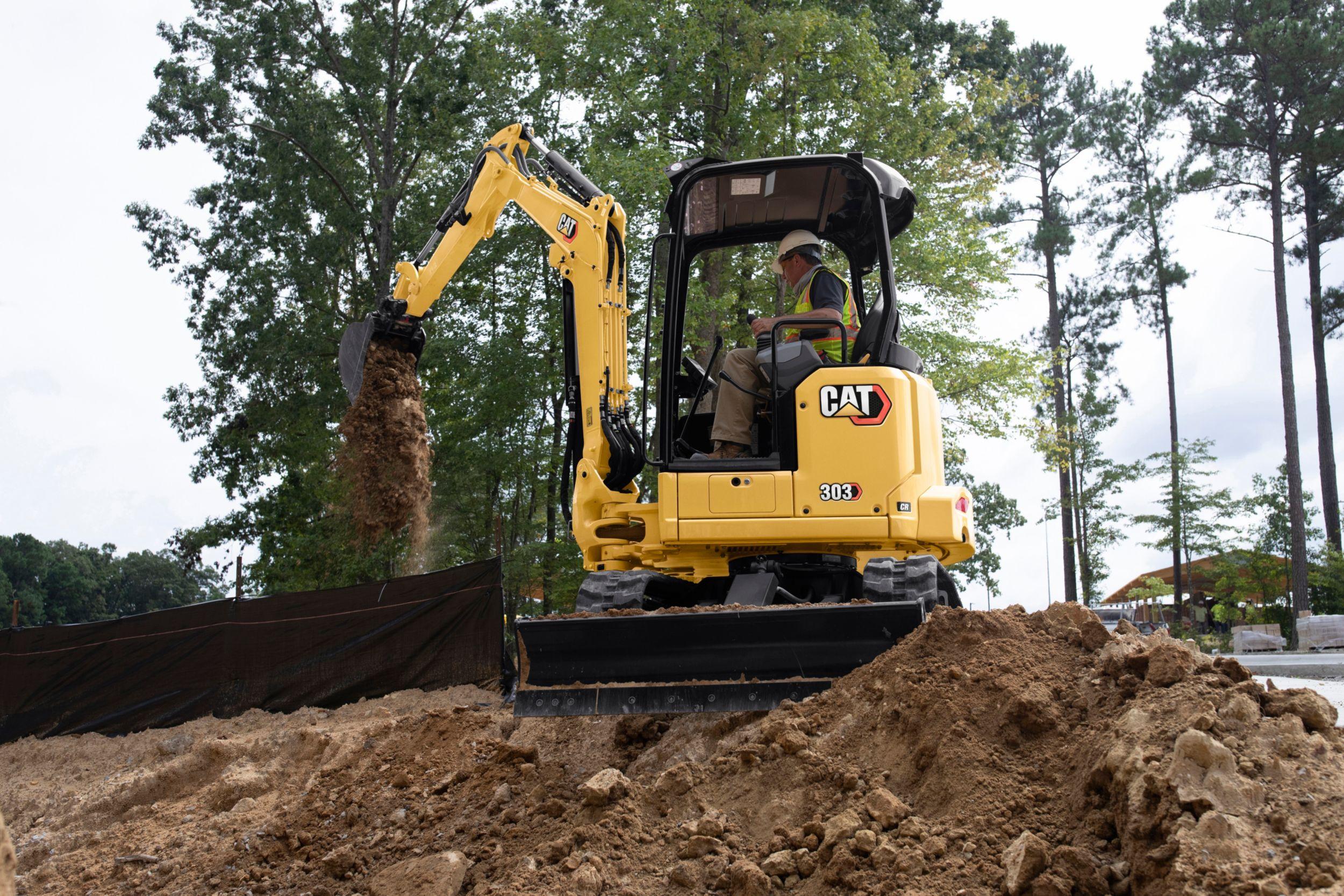 303 CR Mini Excavator
