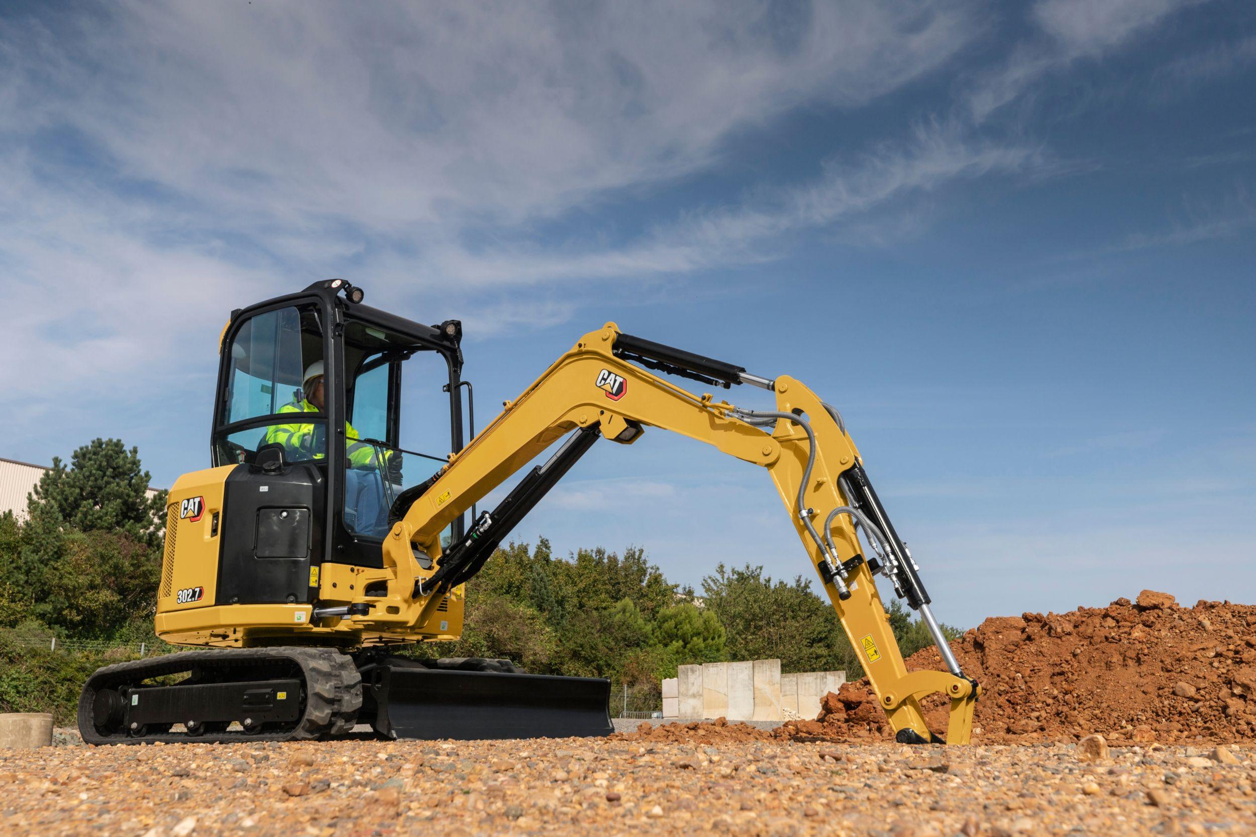 302.7 CR Mini Excavator