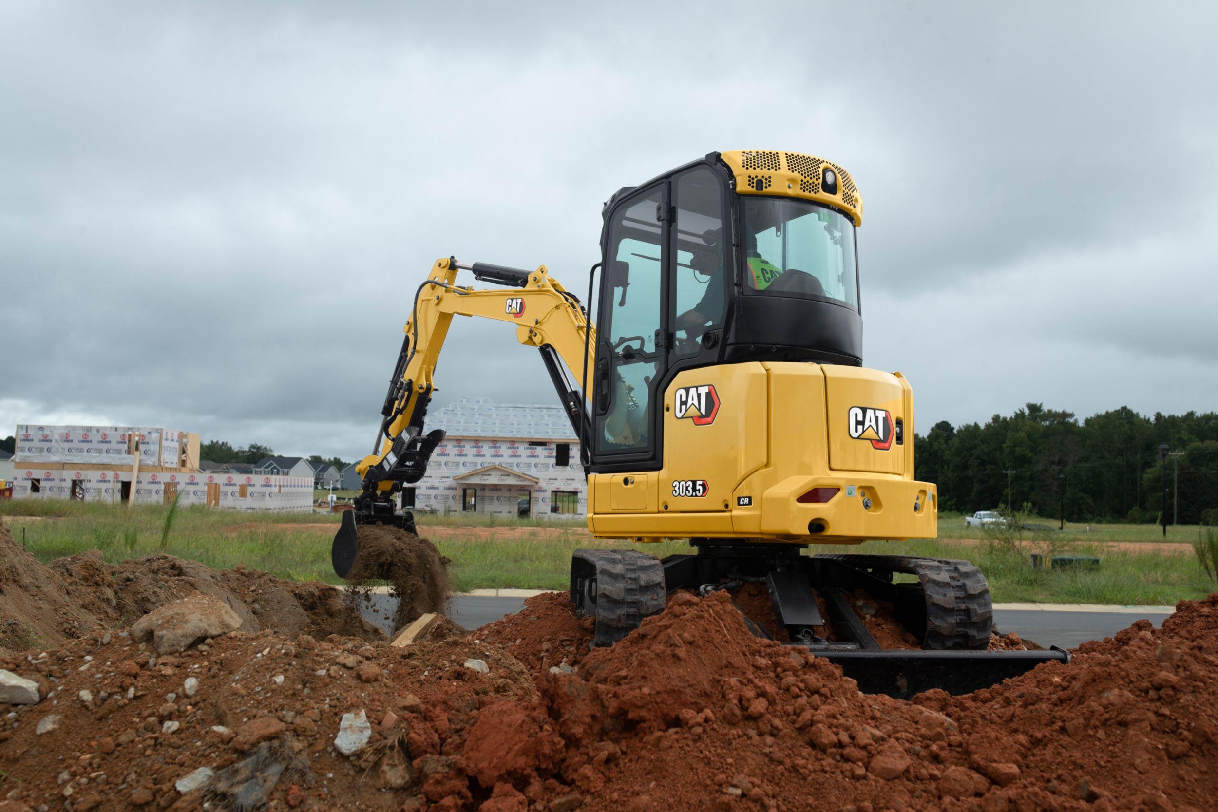 303.5 CR Mini Excavator