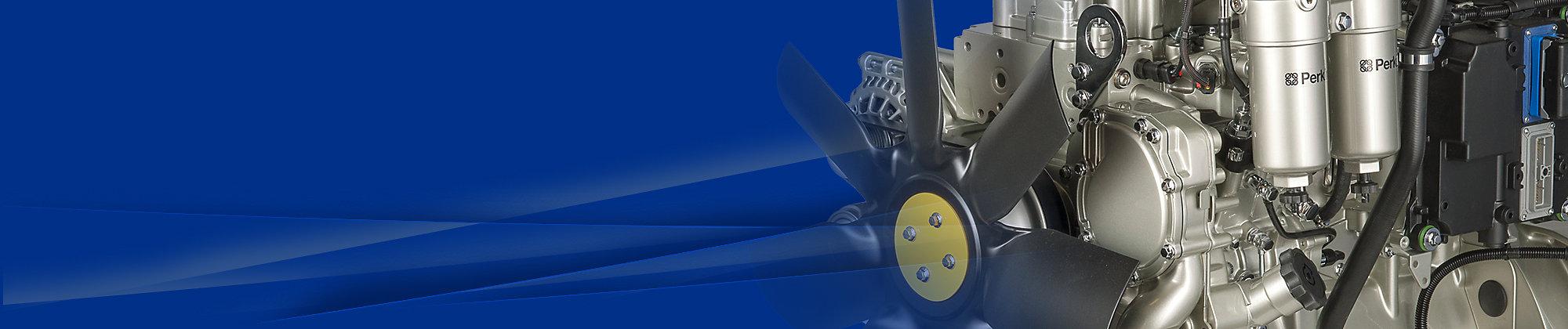 Perkins 翻新和 更换发动机选件