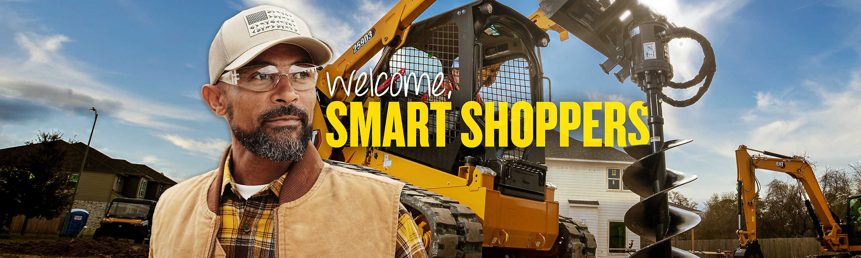 Explore our current offers on Cat construction equipment.