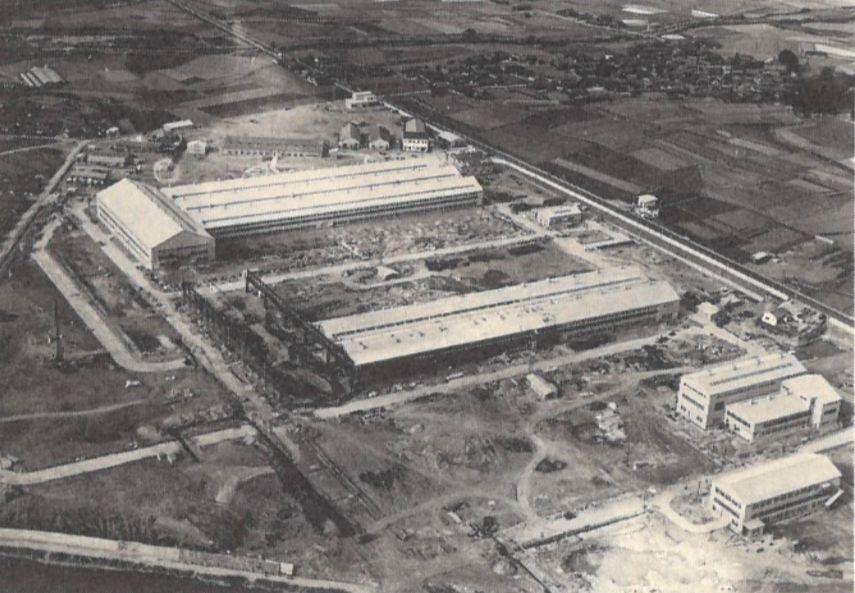 Akashi Plant in 1960