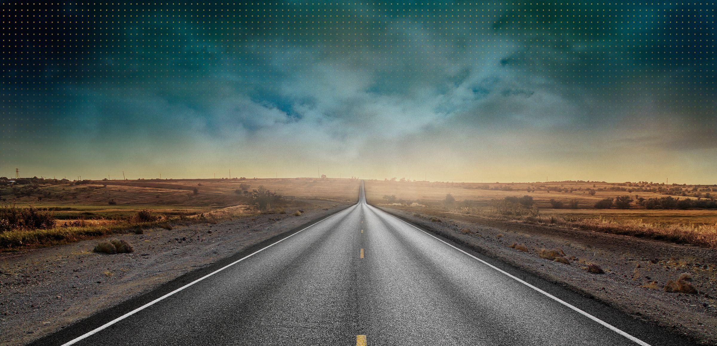 Levántese para enfrentar los caminos