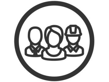team of folks icon