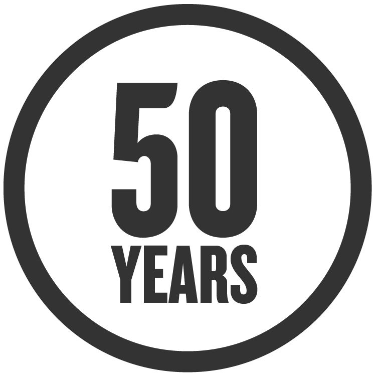 50 yr icon