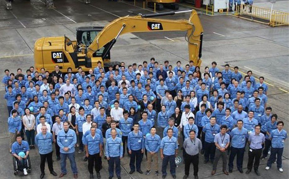 473,000 Excavators. 60 Years. One Awesome Team in Akashi