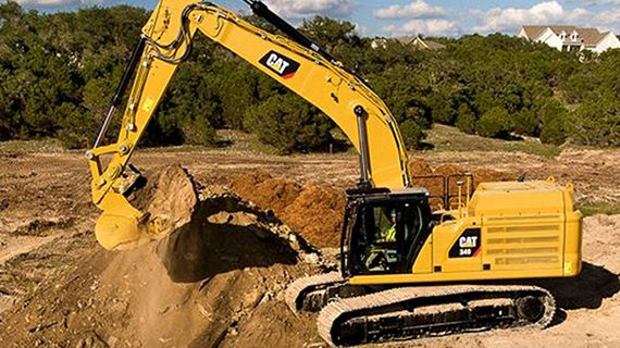 A Cat® 349 Chegou Para Elevar o Padrão Das Escavadeiras.