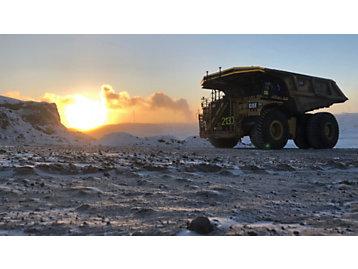 Truck in Oil Sands