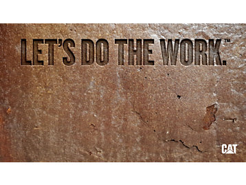 Lets do the work in stone