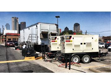 Cat® G3412 natural gas-fueled generator set