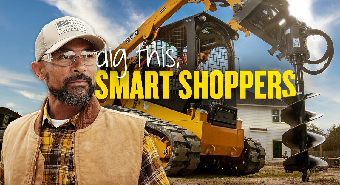 Dig this, smart shoppers.