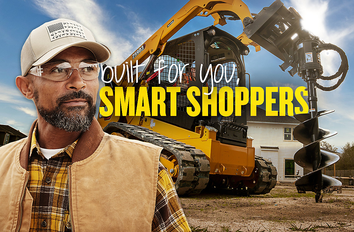 Cat Construction Industry – Built for you, smart shoppers.