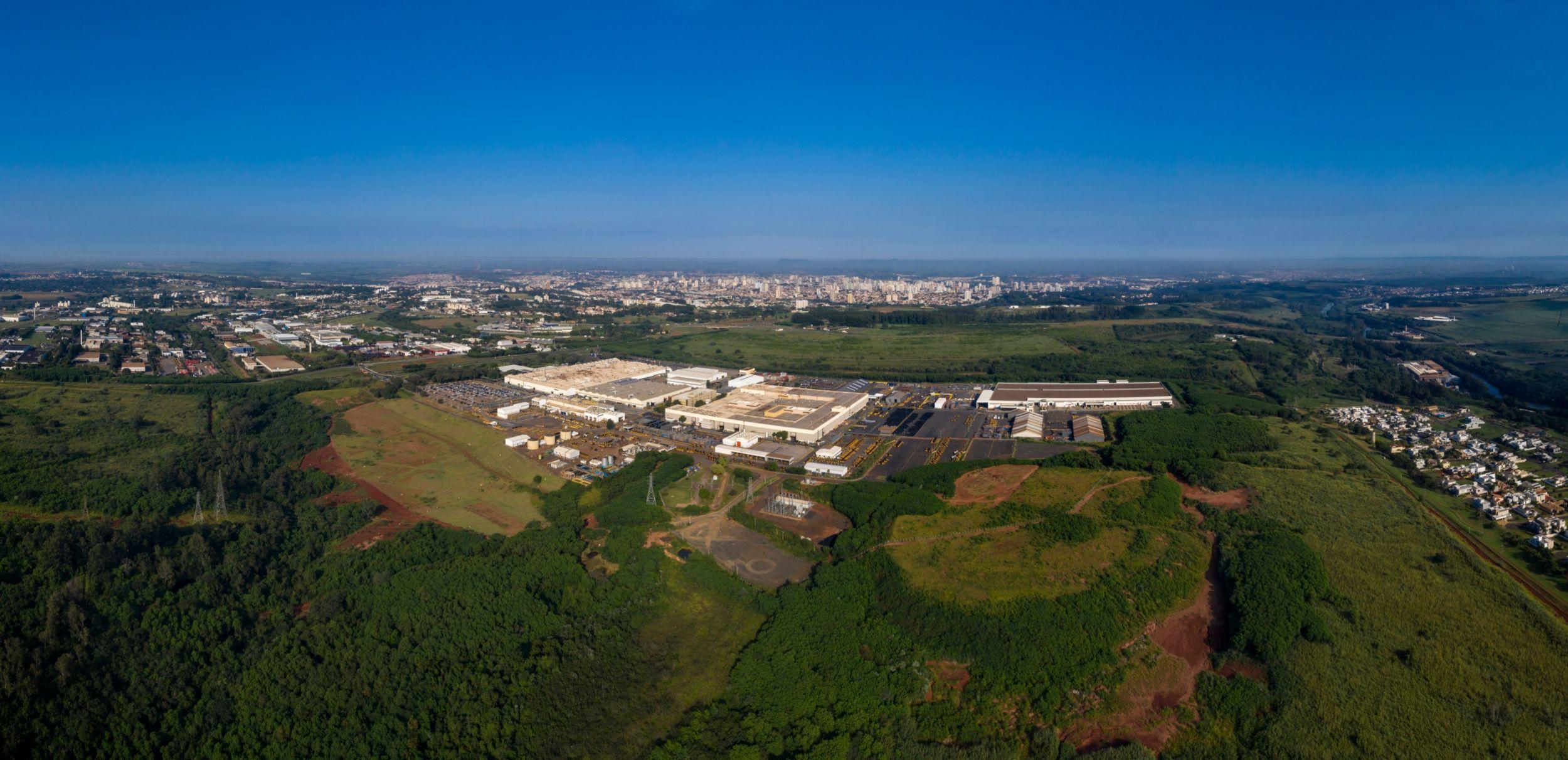 Fábrica da Caterpillar em Piracicaba, SP