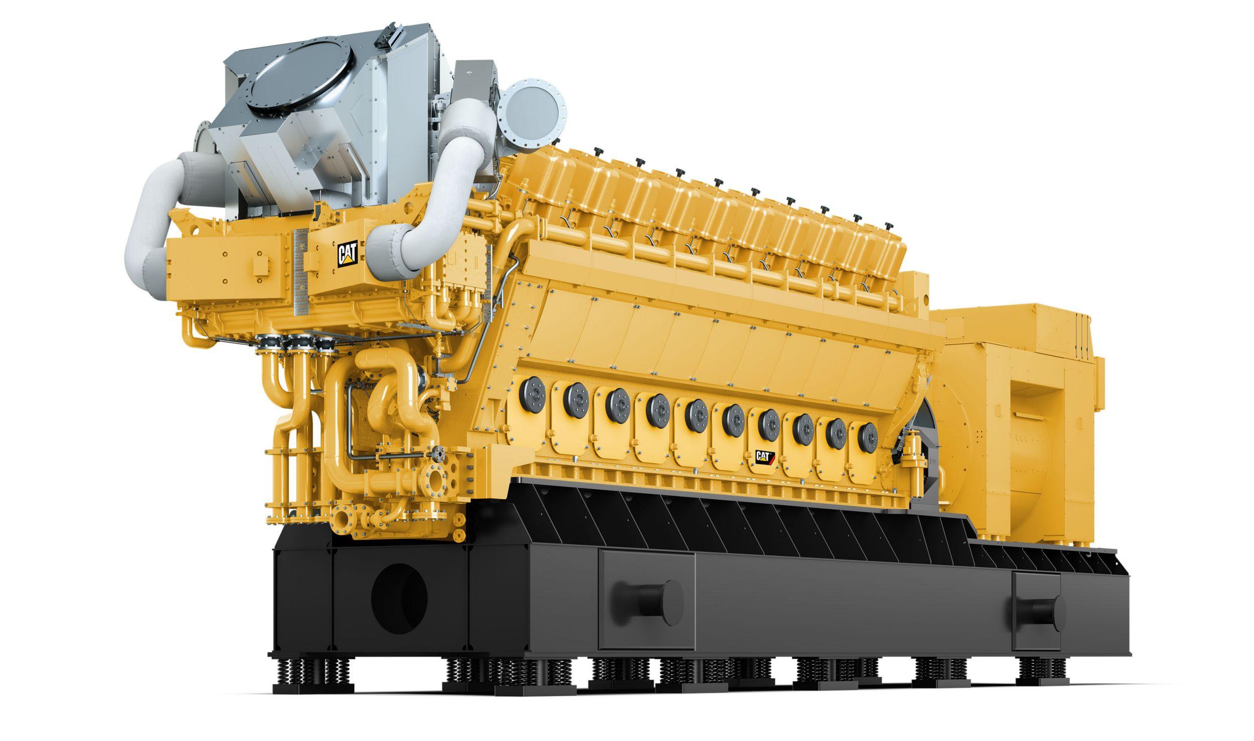 GCM34 Front Left view, Electronic Power Generator Sets>