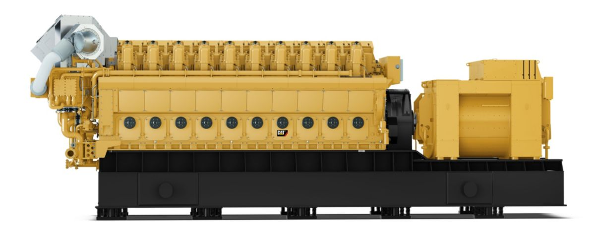 GCM34 Left view, Electronic Power Generator Sets>