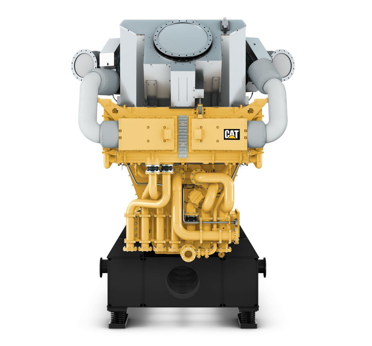 GCM34 Front view, Electronic Power Generator Sets>
