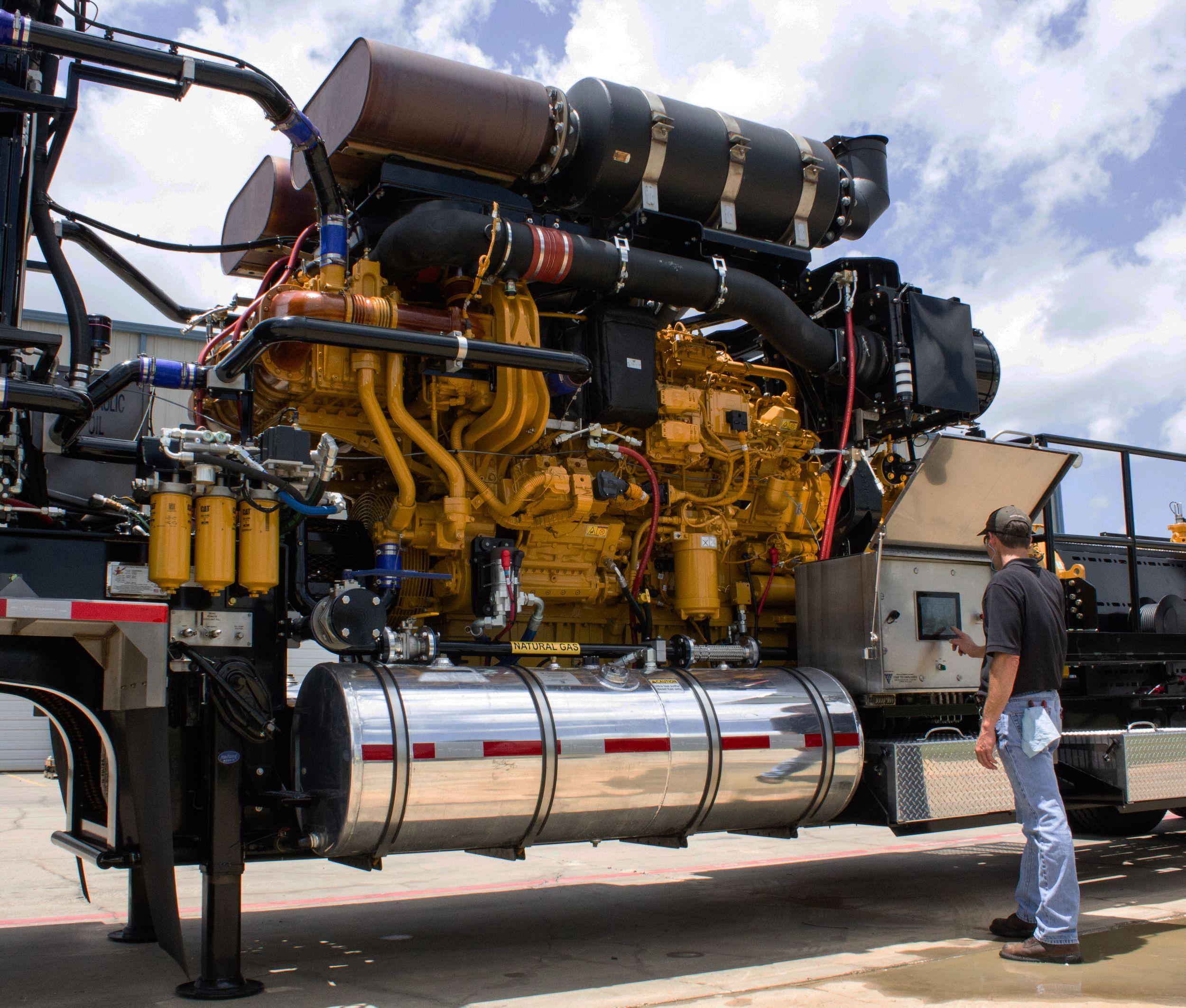 Cat® 3512E Tier 4 Dynamic Gas Blending (DGB)™ Engine