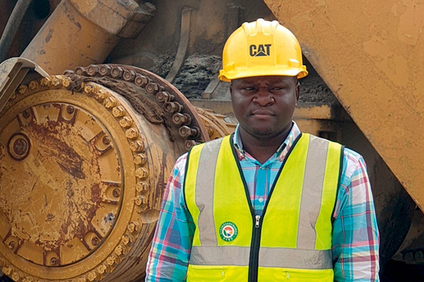 Ibrahim on jobsite