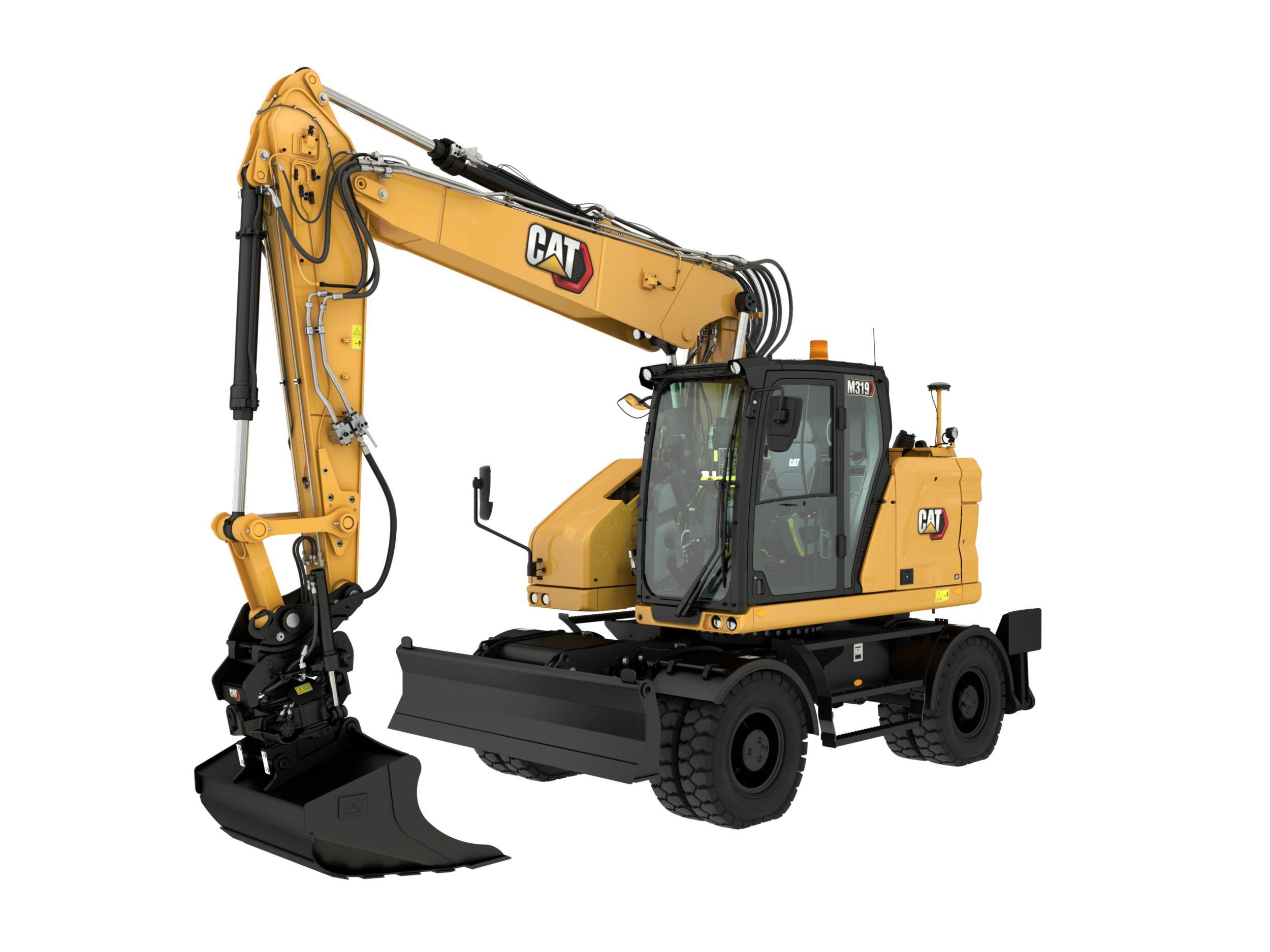 M319 Wheeled Excavator