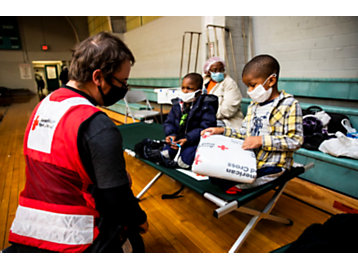 children receiving aid