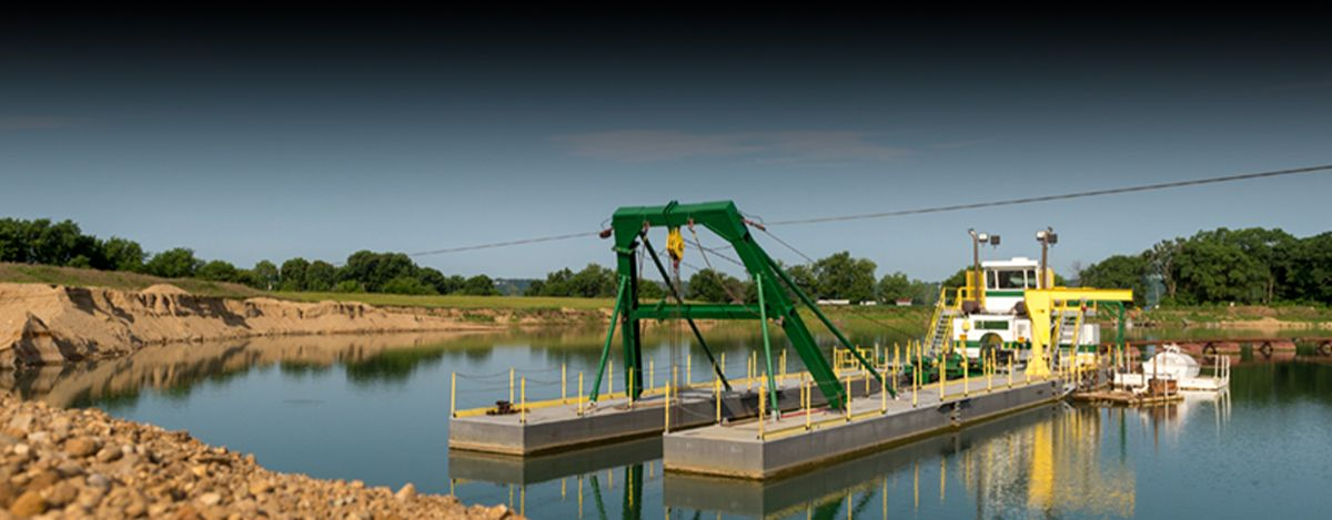 Custom Dredge Works Custom Dredges - Cat® C32 Engine