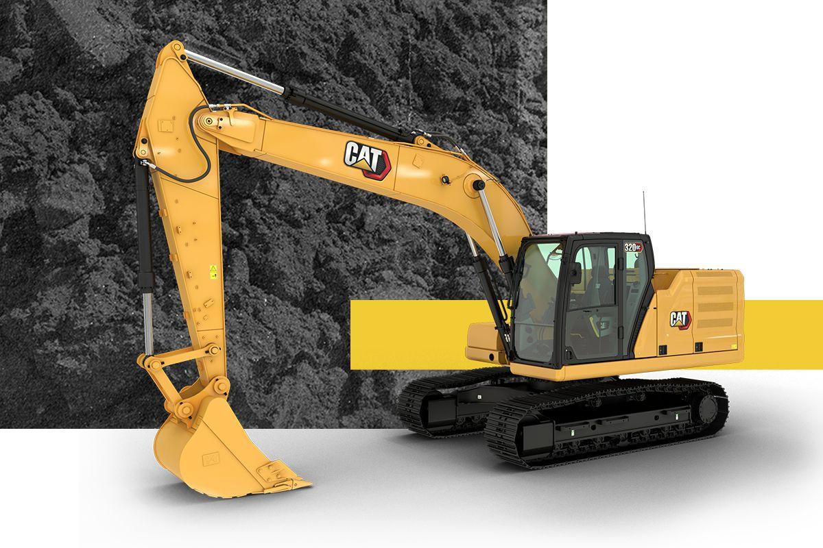 As escavadeiras Cat 320 ou 320GC foram feitas para o seu negócio.
