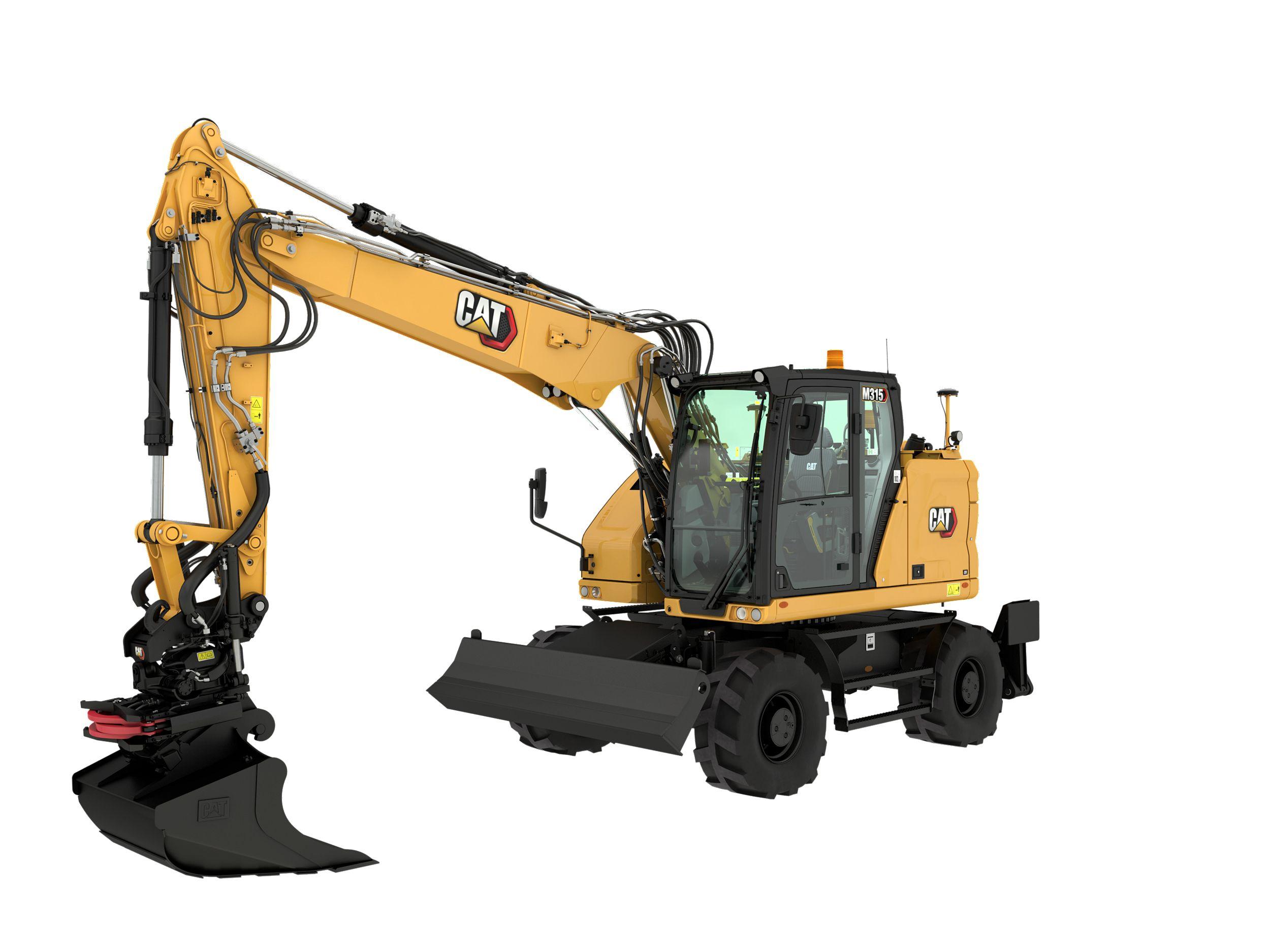 M315 Wheeled Excavator