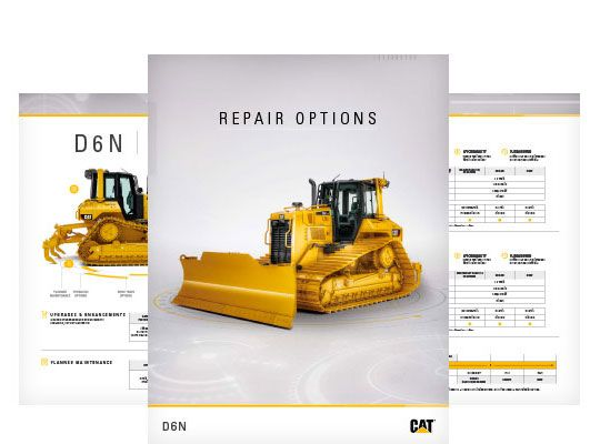 D9N Repair Options Brochure