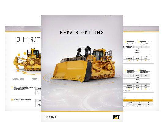 D11R/T Repair Options Brochure