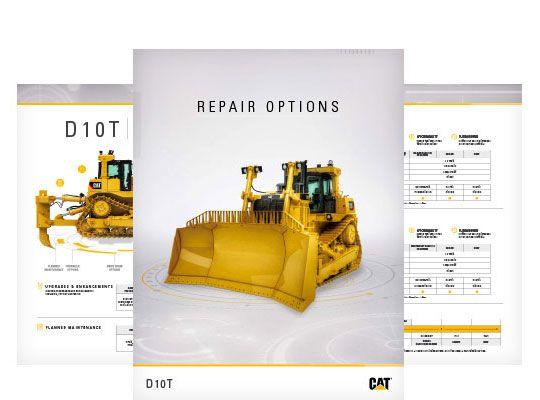 D10T Repair Options Brochure