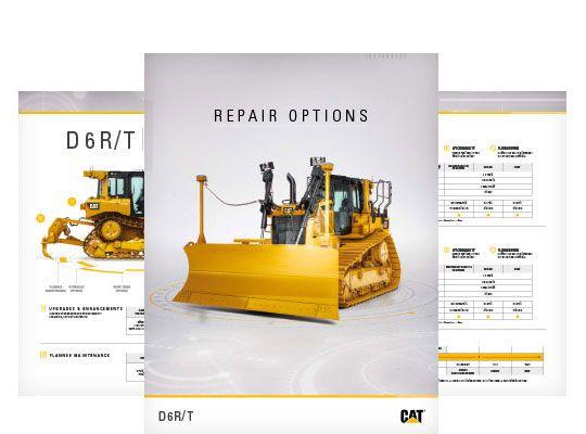 D6R/T Repair Options Brochure