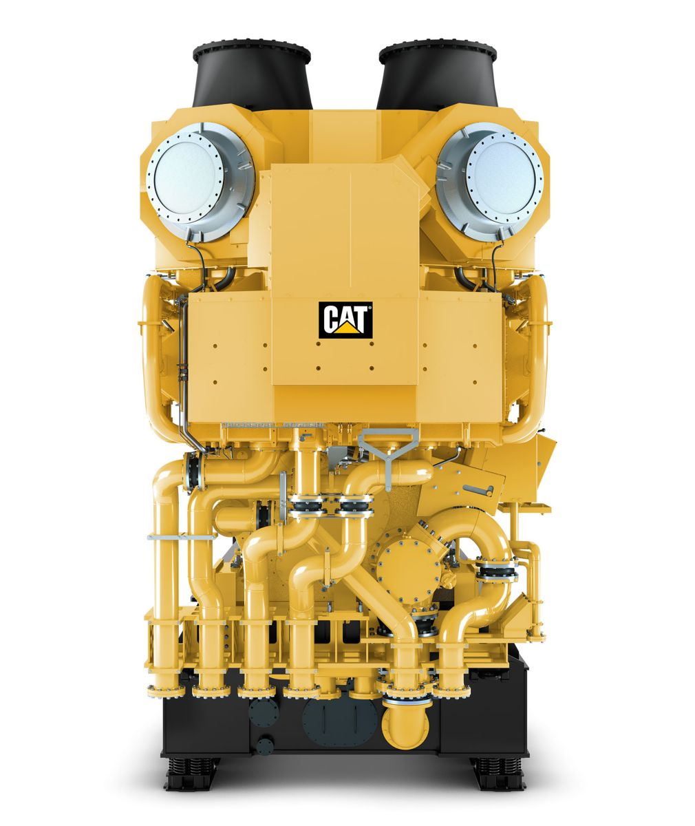 CM43C V-Type Electronic Power Generator Sets Front View>