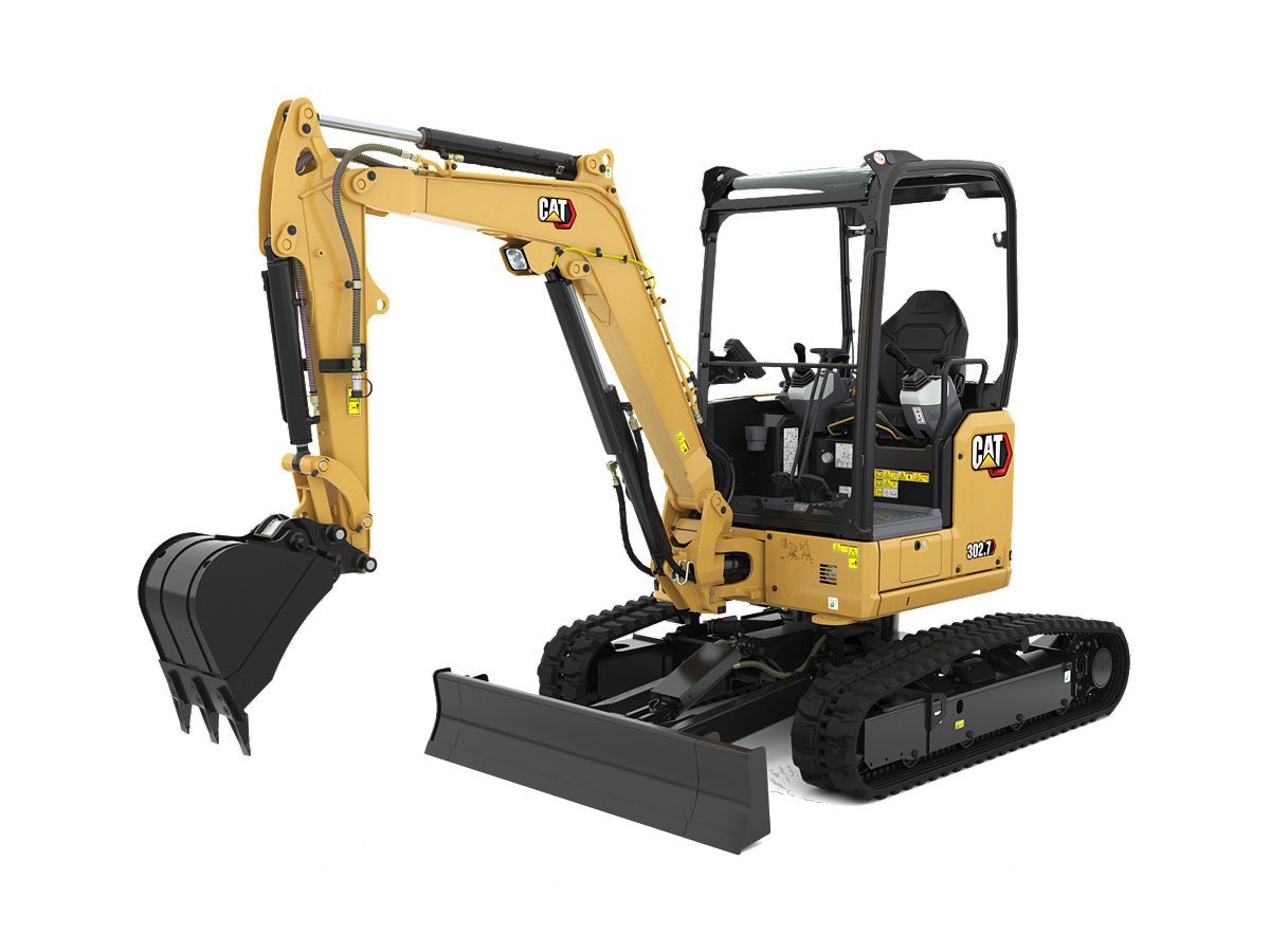 302.7 CR Mini Hydraulic Excavator