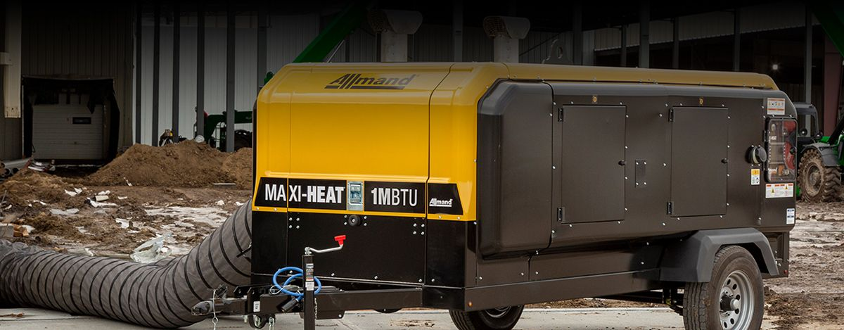 Allmand Maxi-Heat - Cat® C1.1 Engine