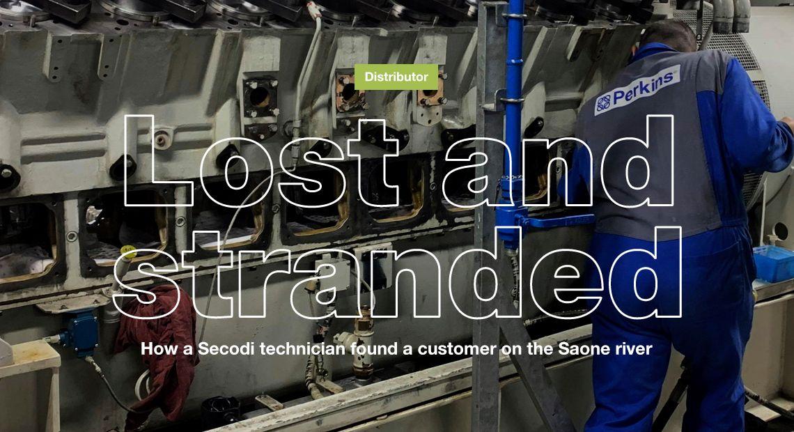 There are no ordinary days for a Secodi technician