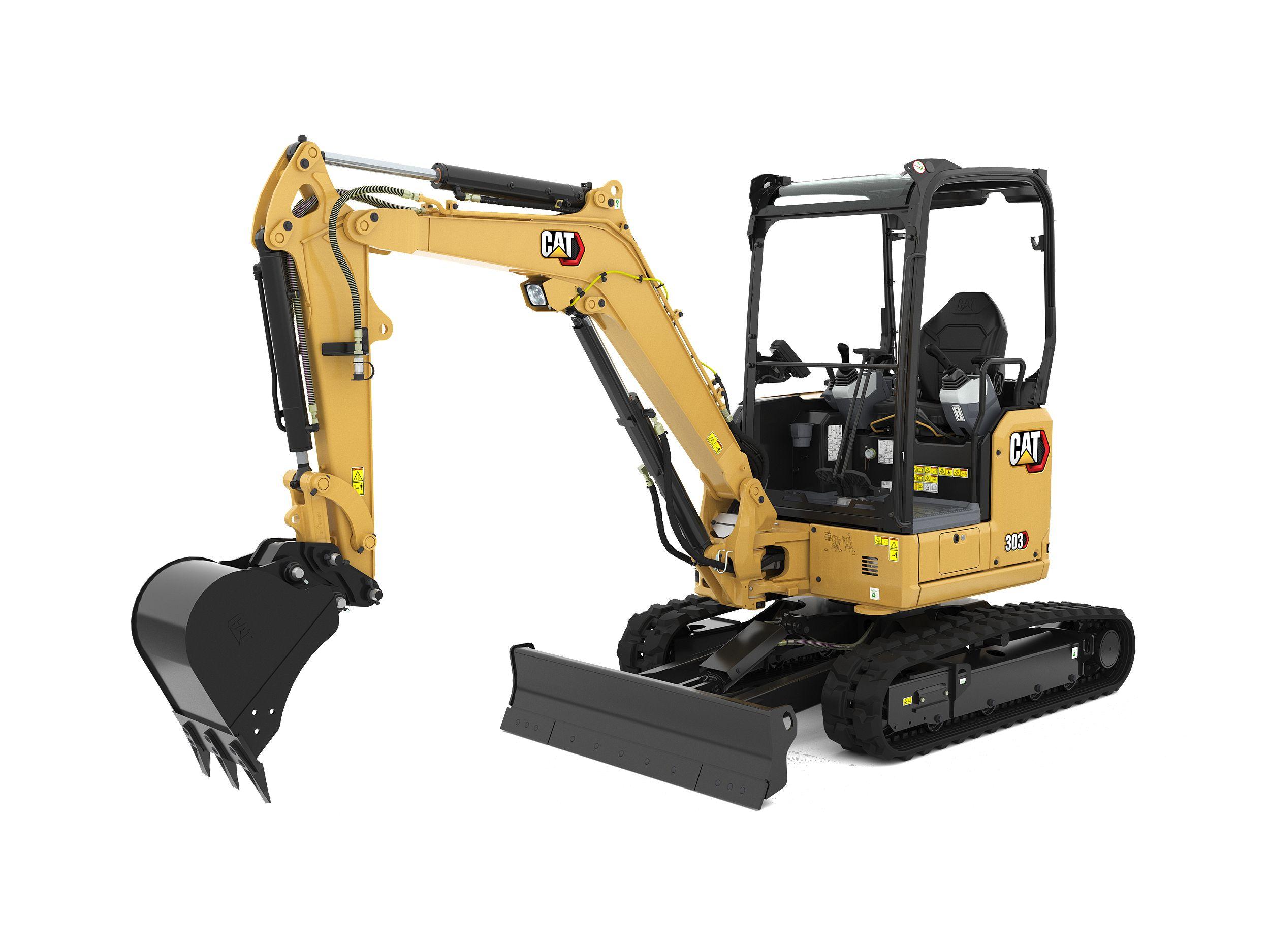 303 CR Mini Hydraulic Excavator