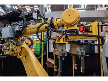 Robotic and computerised production lines