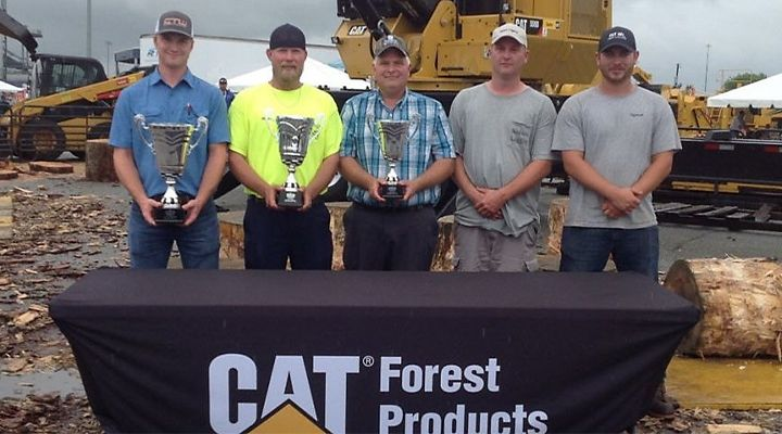 North Carolina Logger Wins Loader Championship Sponsored by Cat Forest Products at Richmond Expo