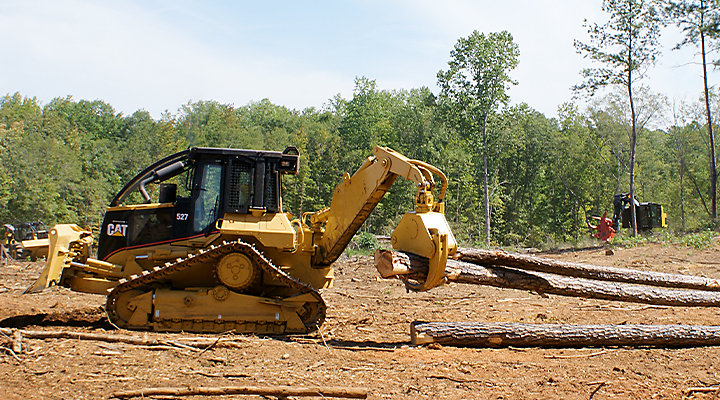 Cat Equipment Helps Logger Achieve Production, Environmental Goals