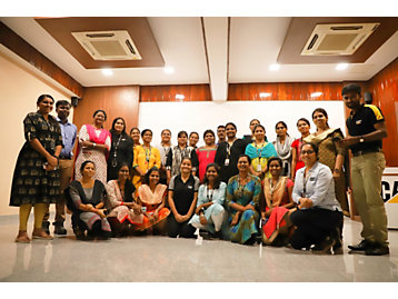 Members of the First Employee Resource Group for Women