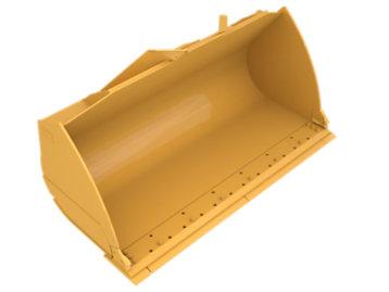 Standard Flat Floor PS, 4.6m³ (6yd³), Pin On
