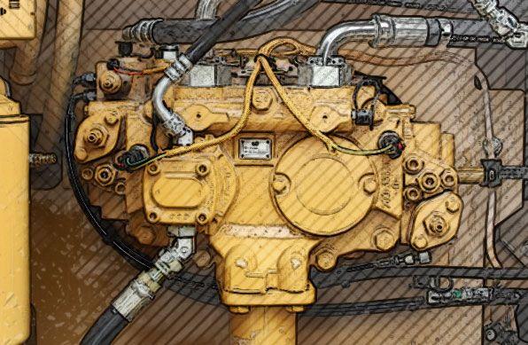Cat Hydraulic Pumps & Motors