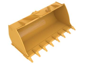 GC Flat Floor PS, 3.1m³ (4yd³), Pin On