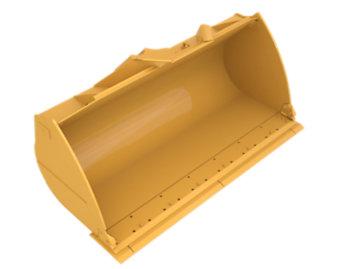 Standard Flat Floor PS, 3.4m³ (4.5yd³), Pin On