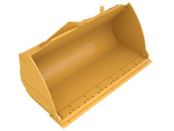 Standard Flat Floor PS, 4.8m³ (6.25yd³), Pin On