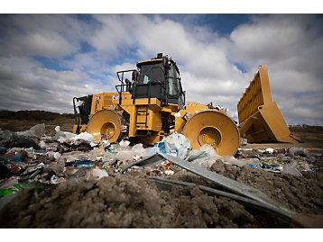 Cat 816 Landfill Compactor