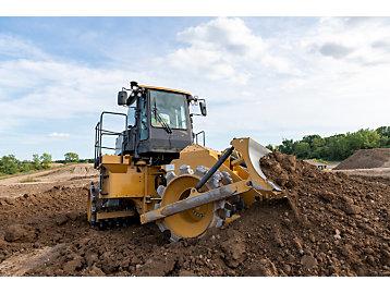 Cat 815 Soil Compactor