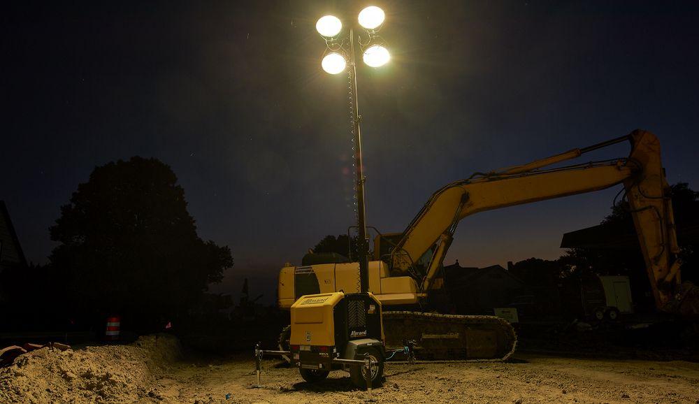 Allmand lighting tower